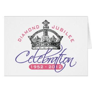 British Diamond Jubilee - Royal Souvenir Greeting Cards