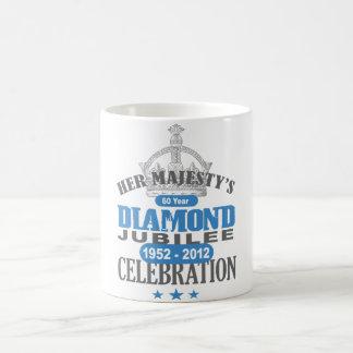 British Diamond Jubilee - Royal Souvenir Coffee Mug