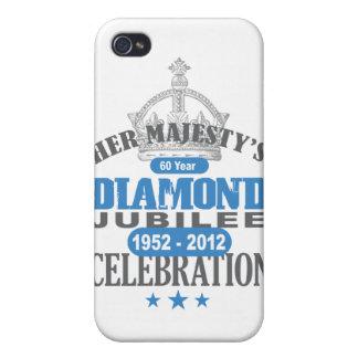 British Diamond Jubilee - Royal Souvenir Cover For iPhone 4