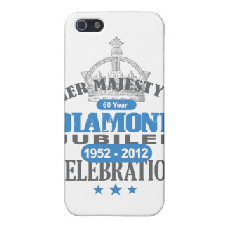 British Diamond Jubilee - Royal Souvenir Cover For iPhone SE/5/5s