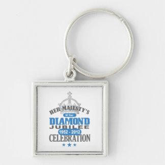 British Diamond Jubilee - Royal Souvenir Key Chains
