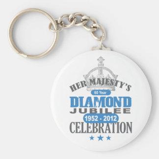 British Diamond Jubilee - Royal Souvenir Keychain