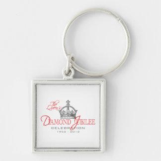 British Diamond Jubilee - Royal Souvenir Key Chain