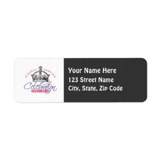 British Diamond Jubilee - Royal Souvenir Label