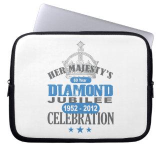 British Diamond Jubilee - Royal Souvenir Laptop Sleeves