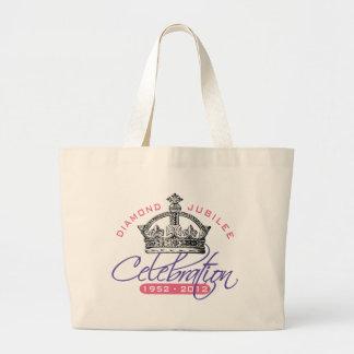British Diamond Jubilee - Royal Souvenir Large Tote Bag