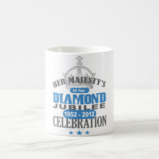 British Diamond Jubilee - Royal Souvenir Mugs