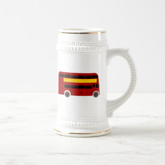 British Double-Decker Bus Coffee Mug