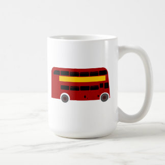 British Double-Decker Bus Mugs