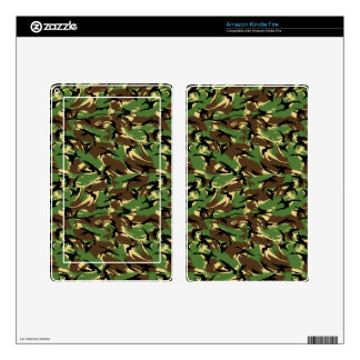 British DPM Camo Kindle Fire Decals