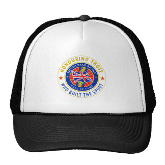 British Drag Racing Hall of Fame Cap Trucker Hat