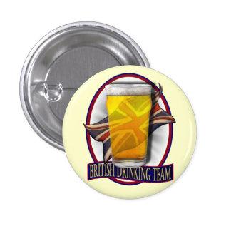 British Drinking Team 1 Inch Round Button