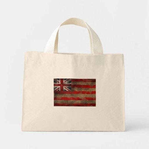 British East India Co. Antique worn effect Mini Tote Bag