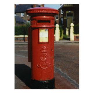 British Edward VII Pillar Box Postcards