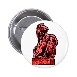 British Emblem Horse lv Red The MUSEUM Zazzle Gift Pinback Buttons