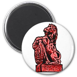 British Emblem Horse Red The MUSEUM Zazzle Gifts Fridge Magnet