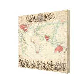 British Empire 2 Canvas Print