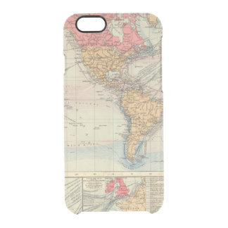 British Empire, routes, currents Clear iPhone 6/6S Case