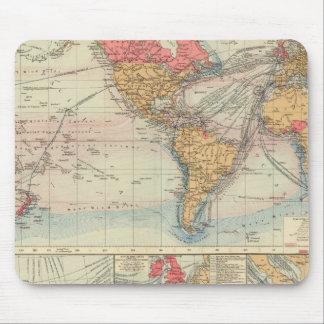 British Empire, routes, currents Mousepads