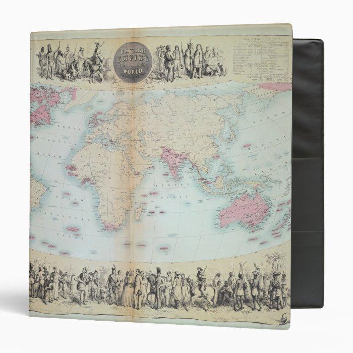 British Empire throughout the World Binder