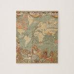 British Empire Vintage Victorian Map Puzzle
