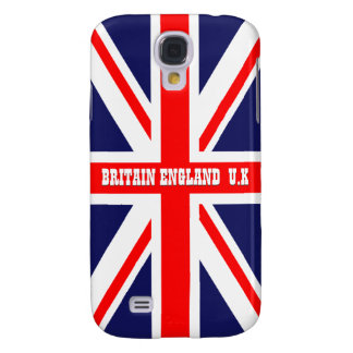 British England Union Jack Britain London flag Galaxy S4 Cover
