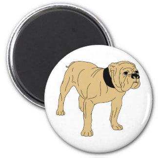 British-English Bulldog Refrigerator Magnet