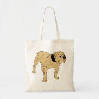 British-English Bulldog Tote Bag