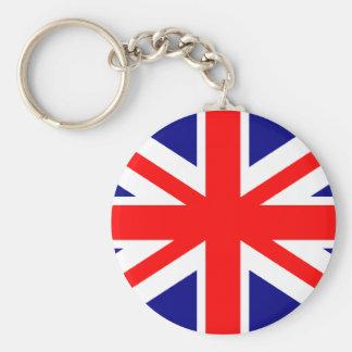 British English Flag Keychain