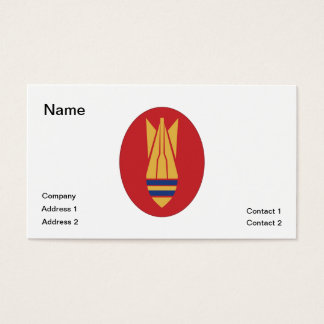 British EOD Business Card