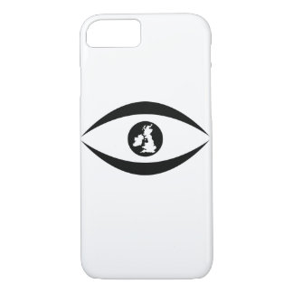 British eye iPhone 7 case