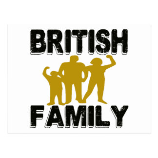 British Family Post Cards