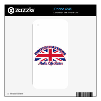 British Fathers designs iPhone 4S Skins
