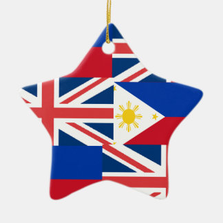 BRITISH-FILIPINO CERAMIC ORNAMENT