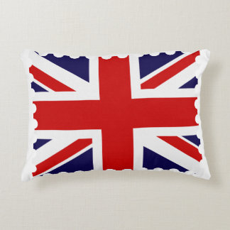 "British flag Accent Pillow 16"" x 12"""