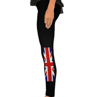 British Flag and Red Phone Booth Leggings