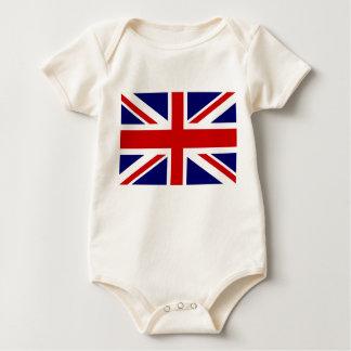 British flag baby clothes | Union jack design Baby Bodysuit