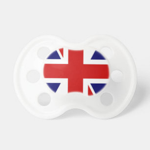 British Flag Baby Pacifier