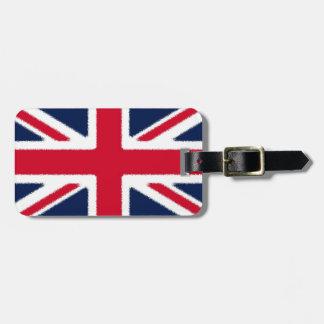 British Flag Bag Tag