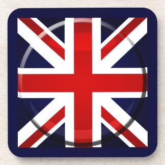 British flag bar coasters and Union Jack