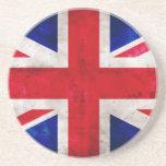 British Flag Beverage Coaster