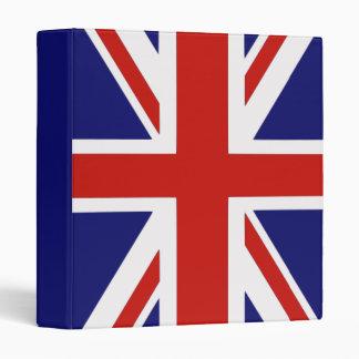 British flag vinyl binder