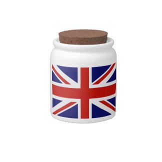 British flag candy dish