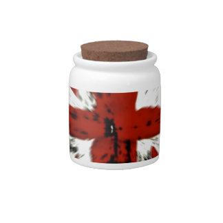 British Flag Candy Jars