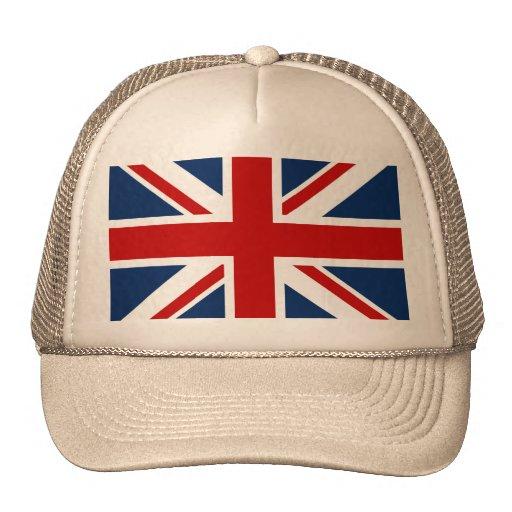 British Flag Cap Trucker Hat