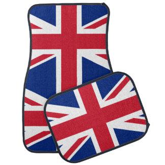 British flag car floor mat
