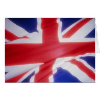 British Flag Cards
