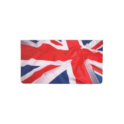 British Flag Checkbook Cover