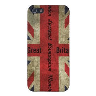 British Flag/Cities case - iPhone 4