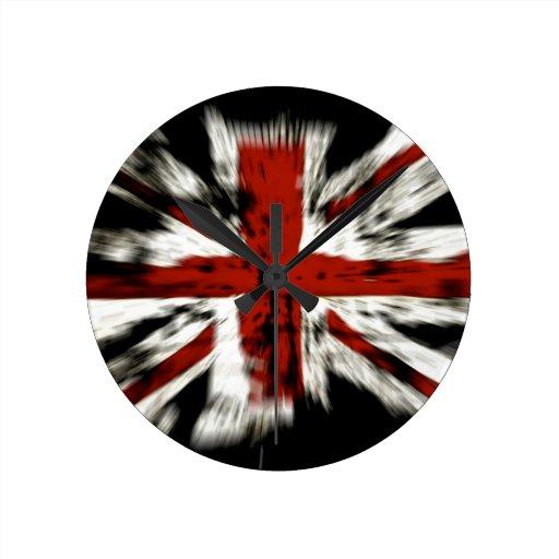 British Flag Wallclocks